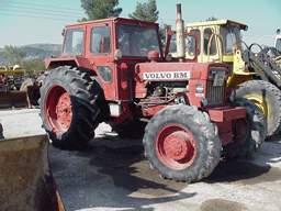 Volvo bm tractor history